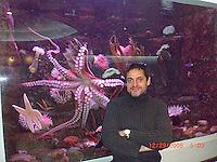 Dante, me and Christine at The Dallas Aquarium.Photo Credit; Rahav Segev/Photopass