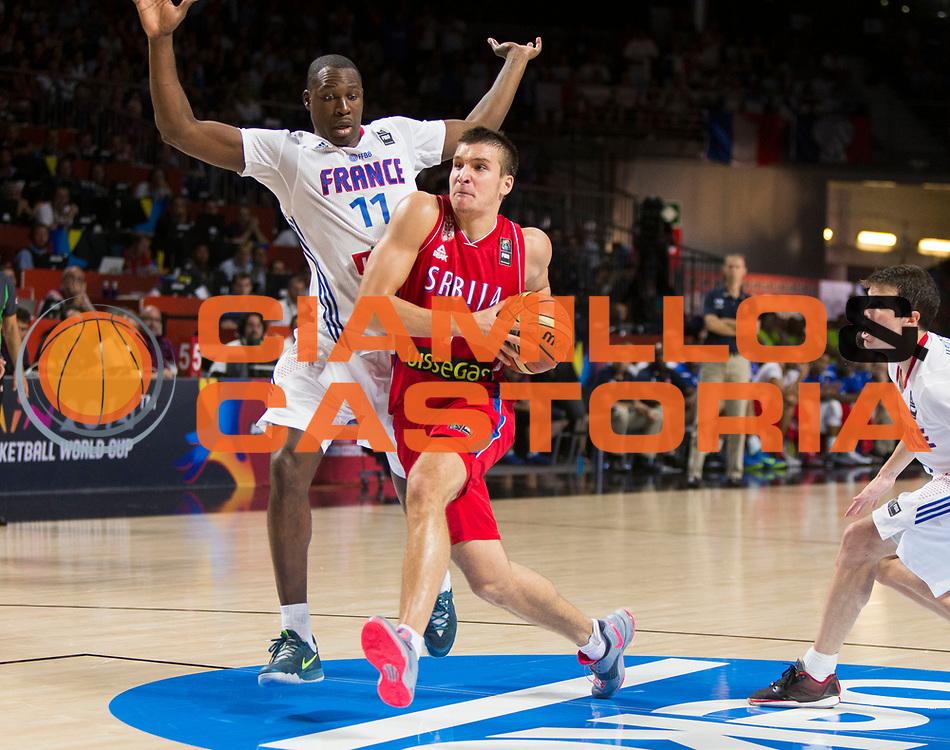 DESCRIZIONE : Madrid FIBA Basketball World Cup Spain 2014 Semi-Finals Francia Serbia France Serbia<br /> GIOCATORE : Bogdan BOGDANOVIC<br /> CATEGORIA : <br /> SQUADRA : Serbia<br /> EVENTO : FIBA Basketball World Cup Spain 2014<br /> GARA :  Francia Serbia France Serbia<br /> DATA : 12/09/2014<br /> SPORT : Pallacanestro <br /> AUTORE : Agenzia Ciamillo-Castoria<br /> Galleria : FIBA Basketball World Cup Spain 2014<br /> Fotonotizia : Madrid FIBA Basketball World Cup Spain 2014 Semi-Finals Francia Serbia France Serbia