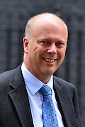 © Licensed to London News Pictures. 11/09/2012. Westminster, UK Lord Chancellor, Secretary of State for Justice - Chris Grayling. MP's arrive for Cabinet at number 10 Downing Street today 11/09/12. Photo credit : Stephen Simpson/LNP