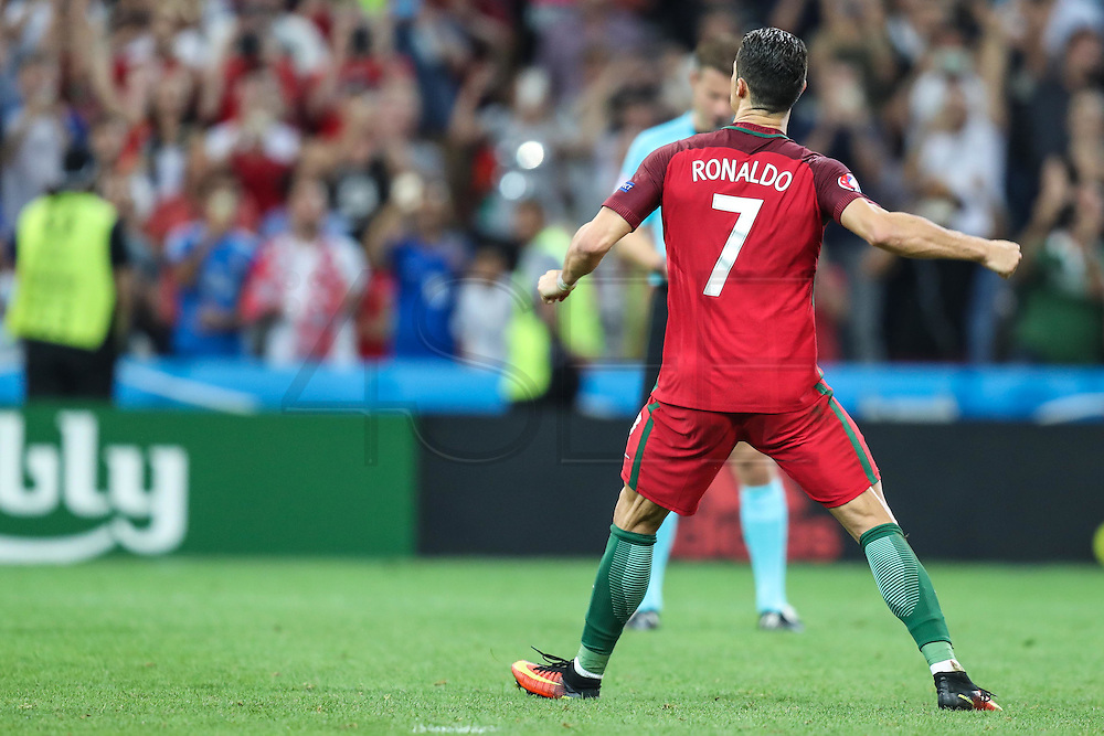 Cristiano Ronaldo of Portugal in the match against Poland valid for the quarterfinals of Euro 2016 at the Velodrome stadium in Marseille, on Thursday (30).