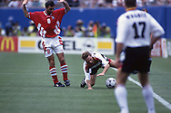 FIFA World Cup - USA 1994<br /> 10.7.1994, Giants Stadium, New York/New Jersey.<br /> World Cup Quarter Final, Bulgaria v Germany.
