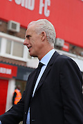 Mick McCarthy prior to kick off during the EFL Sky Bet Championship match between Brentford and Ipswich Town at Griffin Park, London, England on 13 August 2016. Photo by Matthew Redman.