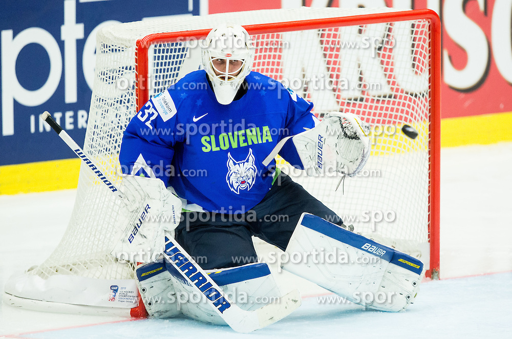 Gasper Kroselj of Slovenia during Ice Hockey match between Finland and Slovenia at Day 7 in Group B of 2015 IIHF World Championship, on May 7, 2015 in CEZ Arena, Ostrava, Czech Republic. Photo by Vid Ponikvar / Sportida