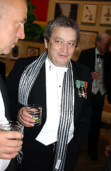 NORMAN ROSENTHAL at the Royal Academy dinner before the official opening of the Summer Exhibition held at the Royal Academy of Art, Burlington House, Piccadilly, London W1 on 1st June 2005.<br />