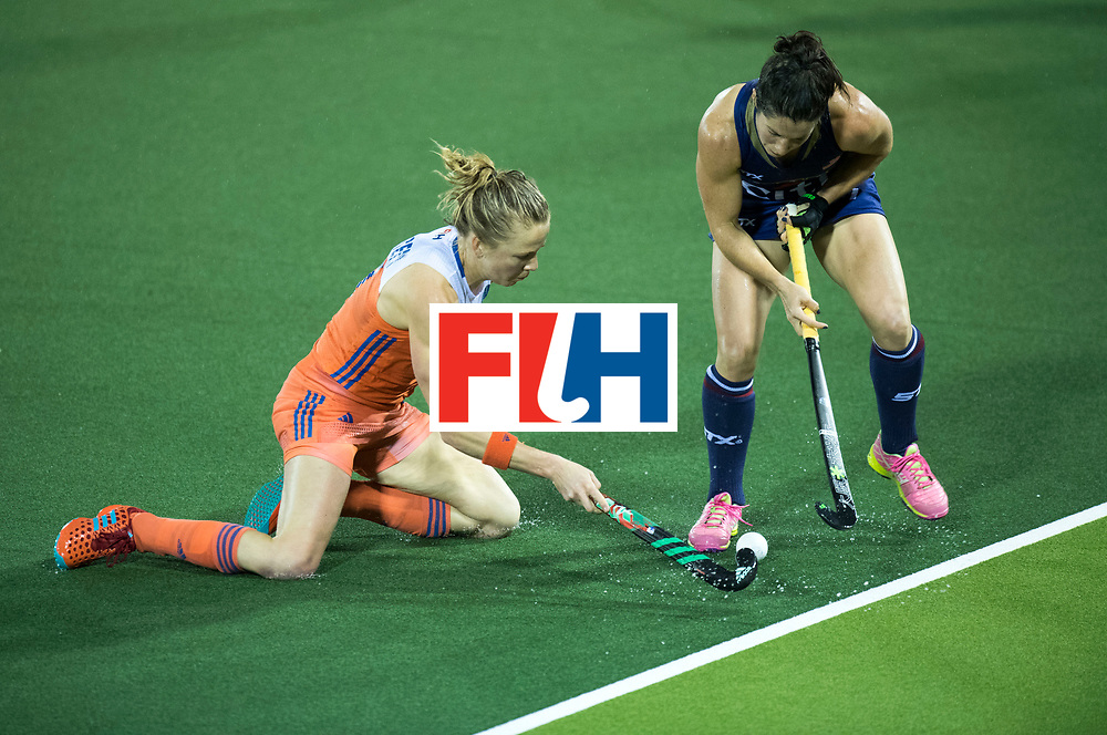 AUCKLAND - Sentinel Hockey World League final women<br /> Match id 10296<br /> 06 Usa v Netherlands<br /> Foto: Ireen van den Assum.<br /> WORLDSPORTPICS COPYRIGHT FRANK UIJLENBROEK