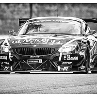#1, BMW Z4 GT3, Ecurie Ecosse, driven by Marco Attard and Alexander Sims, 03/05/2015. British GT Championships at Rockingham
