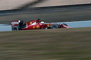 February 19-22, 2015: Formula 1 Pre-season testing Barcelona : Sebastian Vettel (GER), Ferrari