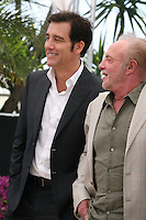 Actors James Caan and Clive Owen at the Blood Ties film photocall at the Cannes Film Festival Monday 20th May 2013