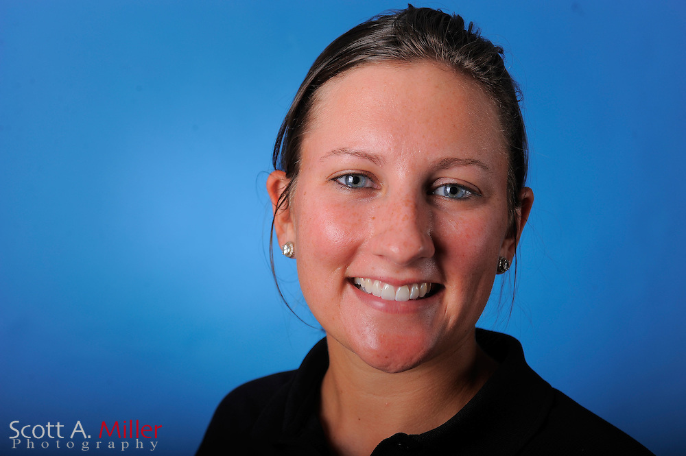 Ashley Cox during a portrait session prior to the second stage of LPGA Qualifying School at the Plantation Golf and Country Club on Sept. 24, 2011 in Venice, FL...©2011 Scott A. Miller