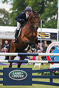 Iron IV ridden by Selina Milnes in the Equi-Trek CCI-4* Show Jumping during the Bramham International Horse Trials 2019 at Bramham Park, Bramham, United Kingdom on 9 June 2019.