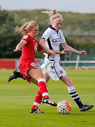 Millie Farrow of Bristol City Women in action - Mandatory byline: Rogan Thomson/JMP - 09/07/2016 - FOOTBALL - Stoke Gifford Stadium - Bristol, England - Bristol City Women v Milwall Lionesses - FA Women's Super League 2.