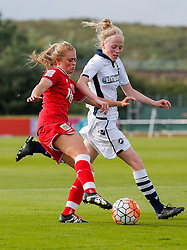 Millie Farrow of Bristol City Women in action - Mandatory byline: Rogan Thomson/JMP - 09/07/2016 - FOOTBALL - Stoke Gifford Stadium - Bristol, England - Bristol City Women v Milwall Lionesses - FA Women's Super League 2.