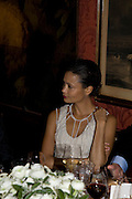 THANDIE NEWTON, Pre Bafta dinner hosted by Charles Finch and Chanel. Mark's Club. Charles St. London. 9 February 2008.  *** Local Caption *** -DO NOT ARCHIVE-© Copyright Photograph by Dafydd Jones. 248 Clapham Rd. London SW9 0PZ. Tel 0207 820 0771. www.dafjones.com.