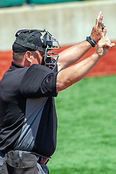 NORMAL, IL - May 01:   J Mark Huesman during a college baseball game between the ISU Redbirds and the Indiana State Sycamores on May 01 2019 at Duffy Bass Field in Normal, IL. (Photo by Alan Look)