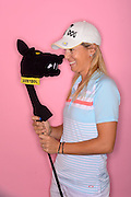 Elisa Serramia during a portrait session prior to the Symetra Tour's Florida's Natural Charity Classic at the Lake Region Yacht and Country Club on Mar 19, 2013  in Winter Haven, Florida. ..©2013 Scott A. Miller
