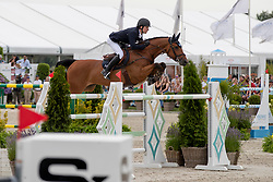 Lindelow Douglas, SWE, Casquo Blue<br /> Grand Prix Rolex powered by Audi <br /> CSI5* Knokke 2019<br /> © Hippo Foto - Dirk Caremans<br /> Lindelow Douglas, SWE, Casquo Blue