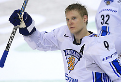 Mikko Koivu (9) of Finland at play-off round quarterfinals ice-hockey game USA  vs Finland at IIHF WC 2008 in Halifax,  on May 14, 2008 in Metro Center, Halifax, Nova Scotia,Canada. Win of Finland 3 : 2. (Photo by Vid Ponikvar / Sportal Images)