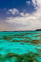 Coral reefs off the Ile des Pins (Isle of Pines), New Caledonia Barrier Reef (UNESCO World Heritage Site), New Caledonia