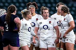 Lark Davies of England Women - Mandatory by-line: Robbie Stephenson/JMP - 16/03/2019 - RUGBY - Twickenham Stadium - London, England - England Women v Scotland Women - Women's Six Nations