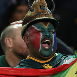 General views of a fan during the 2018 Castle Lager Incoming Series 3rd Test match between South Africa and England at Newlands Rugby Stadium,Cape Town,South Africa. 23,06,2018 Photo by (Steve Haag JMP)