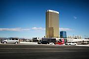 The Trump International Hotel in Las Vegas.