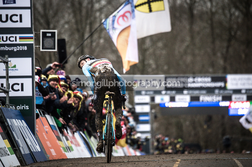 UCI Cyclo-cross World Championships in Valkenburg 2018. Michael Vanthourenhout. Photo by Simon Gill.
