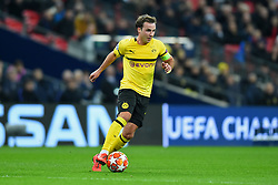 February 13, 2019 - London, England, United Kingdom - Borussia Dortmund midfielder Mario Gotze in action during the UEFA Champions League match between Tottenham Hotspur and Ballspielverein Borussia 09 e.V. Dortmund at Wembley Stadium, London on Wednesday 13th February 2019. (Credit: Jon Bromley | MI News & Sport Ltd) (Credit Image: © Mi News/NurPhoto via ZUMA Press)