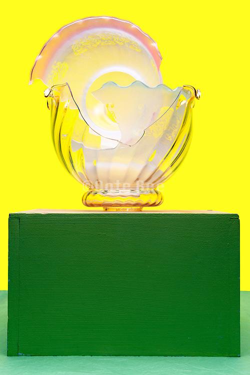 broken glass lampshades
