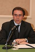 03/03/2008<br /> Presentazione programmi delle Nazionali 2008<br /> Nella foto: Carlo Recalcati<br /> Foto Ciamillo