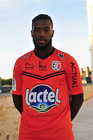 Duckens Nazon - 28.09.2015 - Photo officielle - Laval - Ligue 2<br /> Photo : Philippe Le Brech / Icon Sport
