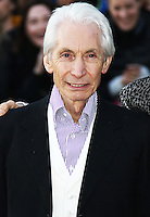 Charlie Watts, The Rolling Stones Exhibitionism - Opening Night Gala, Saatchi Gallery, London UK, 04 April 2016, Photo by Brett D. Cove