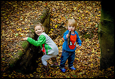 OCT 26 2014 Children in the forest