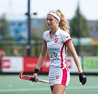 DEN BOSCH - Yibbi Jansen (OR)   tijdens hoofdklasse hockey competitie dames , HC Den Bosch-Oranje Rood (0-1) . COPYRIGHT  KOEN SUYK