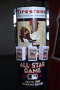 ANAHEIM, CA - JUNE 6:  An All-Star Game player balloting box stands tall before the Los Angeles Angels of Anaheim game against the Chicago White Sox at Angel Stadium on Friday, June 6, 2014 in Anaheim, California. The Angels won the game 8-4. (Photo by Paul Spinelli/MLB Photos via Getty Images)
