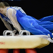 08.04.2017 iPRO SPORT World cup Gymnastics at The 02 Arena London UK Mens Competition<br /> Brinn Bevan GBR<br /> Oleg Verniaiev UKR<br /> Sam Oldham GBR<br /> Lukas Dauser GER<br /> Eddy Yusof SUI<br /> Donnell Whittenburg USA<br /> Luo Jianlin CHN<br /> Alexey Rostov RUS