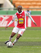 THULANI SERERO  during the PSL match between Ajax Cape Town and Bidvest Wits held at Newlands Stadium in Cape Town on 13 September2009 ..Photo by Shaun Roy/www.sportzpics.net.+27 21 785 6814..