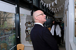 Pictured: John Swinney <br /> Deputy First Minister John Swinney visited Cowgate Nursery in Edinburgh to meet children, staff and modern apprentices working in early years and childcare. Mr Swinney confirmed that a record number of early years apprenticeships are expected to start this year as part of the expansion of free nursery and childcare.  Mr Swinney toured the nursery and discussed the City of Edinburgh Council's plans to expand the early years and childcare workforce and met with modern apprentices as well as Jake Stefanovic, an ambassador from the Scottish Government's childcare recruitment campaign.<br /> <br /> <br /> Ger Harley | EEm 13 February 2018