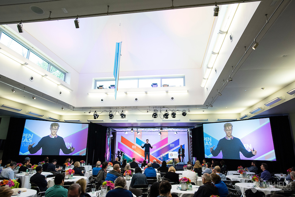 The Booz Allen Aspen Award pitch session during Session 2 at the 2016 Aspen Ideas Festival in Aspen, CO. ©Brett Wilhelm