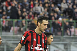 November 26, 2017 - Milan, Italy - Nikola Kalinic of AC Milan during Italian serie A match AC Milan vs Torino FC at San Siro Stadium  (Credit Image: © Gaetano Piazzolla/Pacific Press via ZUMA Wire)