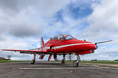 Red Arrow on display National Museum of Flight, East Fortune, 25 April 2018