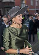 Dordrecht , 18-02-2017 <br /> <br /> Queen Maxima opens in Dordrecht Museum exhibition A Royal Paradise - Aert Schouman and imagination of nature<br /> <br /> COPYRIGHT: ROYALPORTRAITS EUROPE/ BERNARD RUEBSAMEN