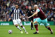 West Bromwich Albion v West Ham United - 16 Sept 2017