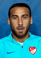 Uefa - World Cup Fifa Russia 2018 Qualifier / <br /> Turkey National Team - Preview Set - <br /> Cenk Tosun