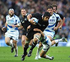Edinburgh-Rugby, New Zealand v Scotland test