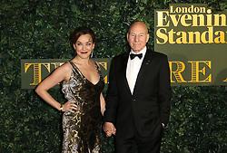 © Licensed to London News Pictures. 13/11/2016. London, UK, Patrick Stewart, Evening Standard Theatre Awards, Photo credit: Richard Goldschmidt/LNP