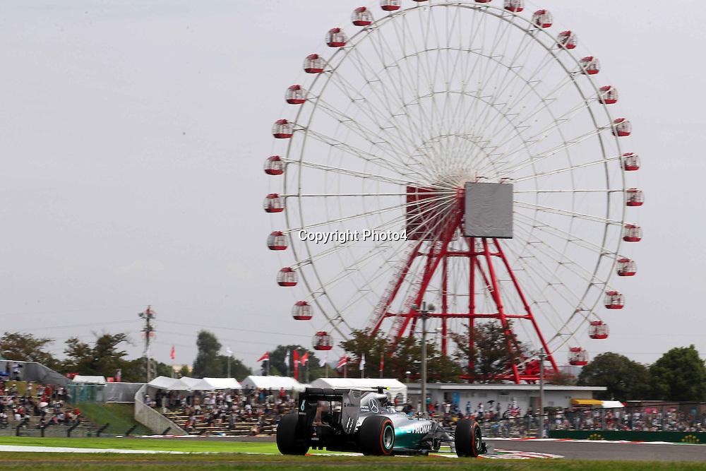 &copy; Photo4 / LaPresse<br /> 03/10/2014<br /> Sport <br /> Grand Prix Formula One Japan 2014<br /> In the pic: Nico Rosberg (GER), Mercedes AMG F1 W05
