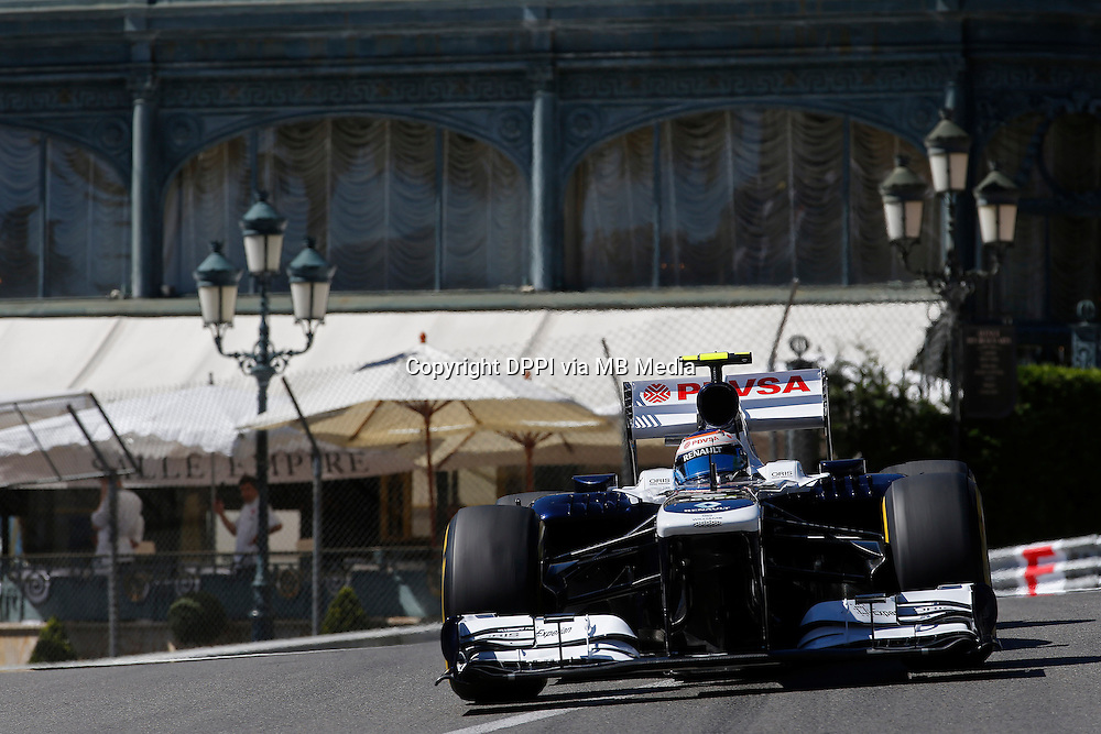 MOTORSPORT - F1 2013 - GRAND PRIX OF MONACO / GRAND PRIX DE MONACO - MONTE CARLO (MON) - 23 TO 26/05/2013 - PHOTO JEAN MICHEL LE MEUR / DPPI - BOTTAS VALTTERI (FIN) - WILLIAMS F1 RENAULT FW35 - ACTION