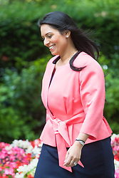 Downing Street, London, July 5th 2016. Employment Minister Priti Patel arrives at 10 Downing Street for the weekly cabinet meeting
