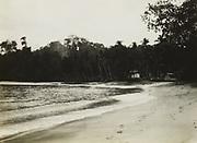 Zuidkust, vermoedelijk op West-Java