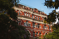 The Writer's Building--originally part of the British East India Company--in Kolkata, India.